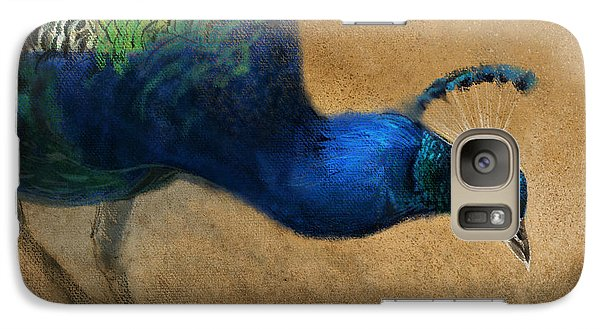 Peacock Galaxy S7 Case - Peacock Light by Aaron Blaise