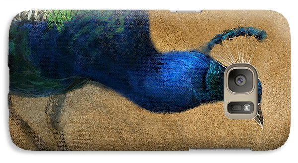 Galaxy Case featuring the digital art Peacock Light by Aaron Blaise