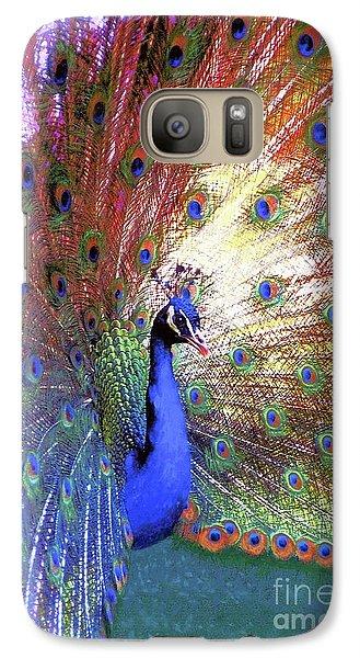 Peacock Wonder, Colorful Art Galaxy S7 Case