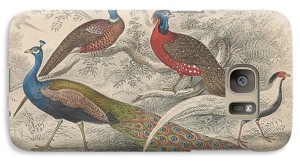 Peacocks Galaxy S7 Case by Dreyer Wildlife Print Collections