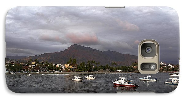 Galaxy Case featuring the photograph Peaceful by Jim Walls PhotoArtist