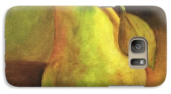 Galaxy Case featuring the painting Pear Study  by Susan Dehlinger