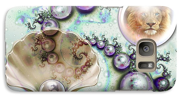 Galaxy Case featuring the digital art Pearl Of Great Price by Dolores Develde