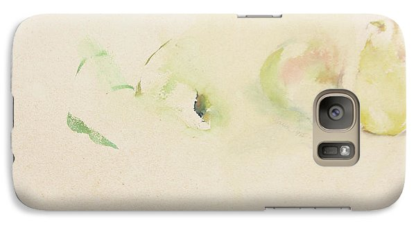 Galaxy Case featuring the painting Pears Two by Daun Soden-Greene
