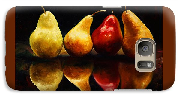 Mango Galaxy S7 Case - Pearsfect by Laurie Hein
