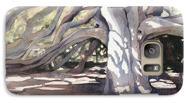 Galaxy Case featuring the painting Pechanga Great Oak by Bonnie Rinier