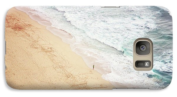 Galaxy Case featuring the photograph Pedn Vounder by Lyn Randle