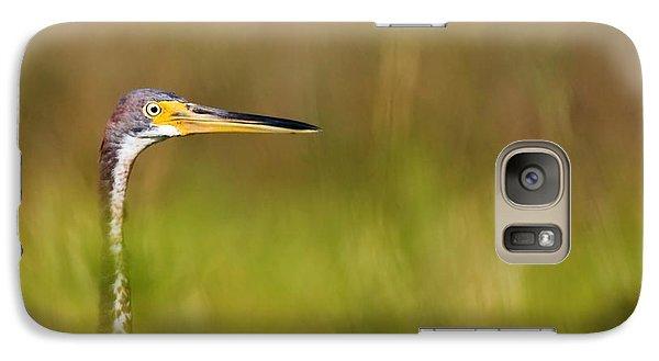 Galaxy Case featuring the photograph Peek-a-boo Birdie by Bob Decker