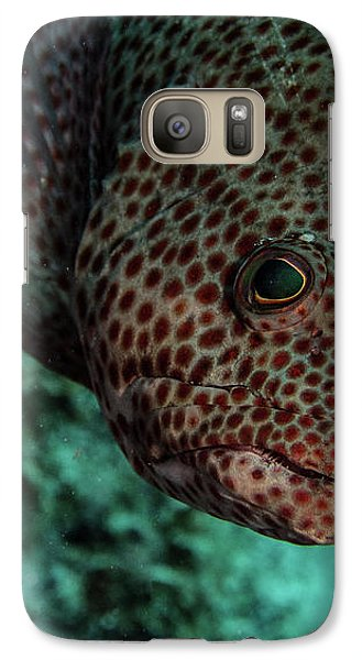 Galaxy Case featuring the photograph Peeking Coney by Jean Noren