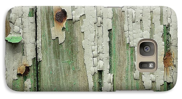 Galaxy Case featuring the photograph Peeling 3 by Mike Eingle
