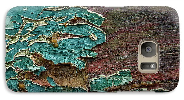 Galaxy Case featuring the photograph Peeling by Mike Eingle