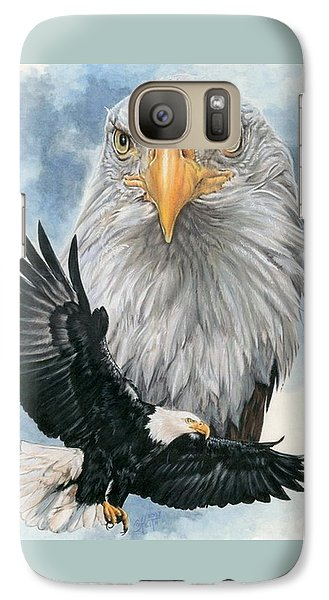Galaxy Case featuring the painting Peerless by Barbara Keith
