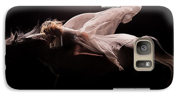Galaxy Case featuring the photograph Pegasus Full by Dario Infini