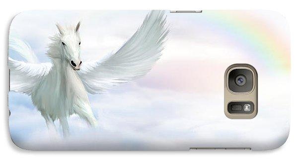 Pegasus Galaxy S7 Case by John Edwards
