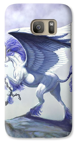 Pegasus Unchained Galaxy S7 Case by Stanley Morrison