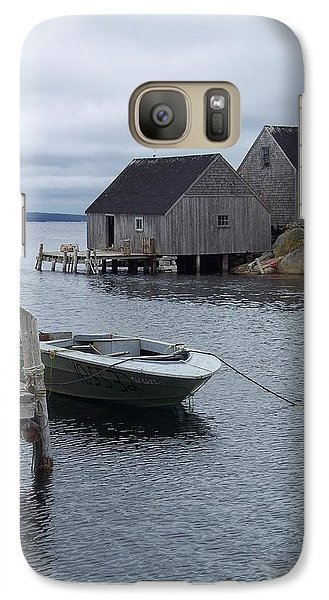 Galaxy Case featuring the photograph Peggys Cove Canada by Richard Bryce and Family