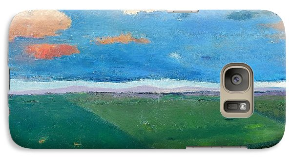 Galaxy Case featuring the painting Peggy's Road by Gary Coleman