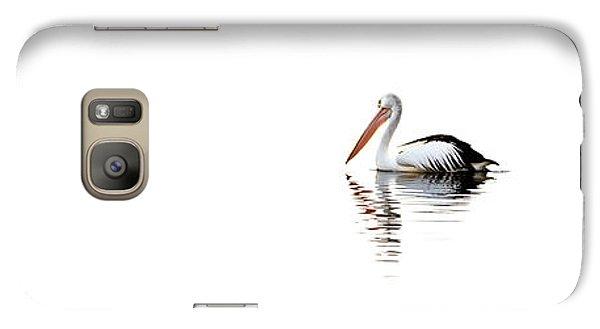 Pelican Galaxy S7 Case - Pelican Adrift by Az Jackson