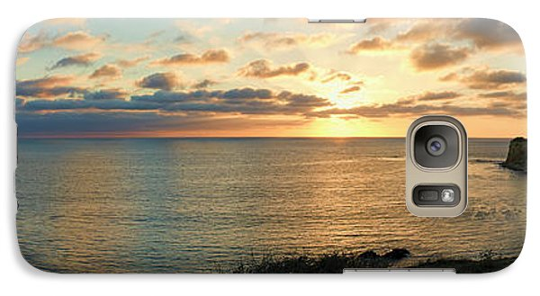 Galaxy Case featuring the photograph Pelican Cove Park Panorama by Eddie Yerkish