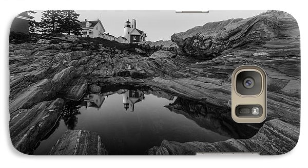 Galaxy Case featuring the photograph Pemaquid Reflecting by Paul Noble