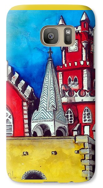 Pena Palace In Portugal Galaxy S7 Case
