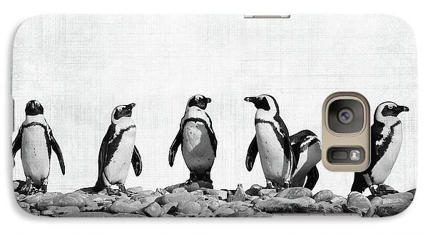 Penguin Galaxy S7 Case - Penguins by Delphimages Photo Creations