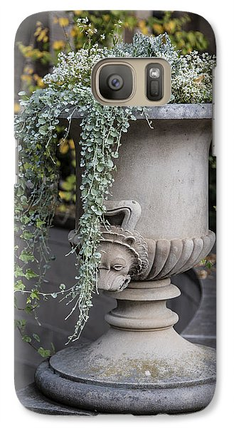 Penn State Flower Pot  Galaxy S7 Case by John McGraw