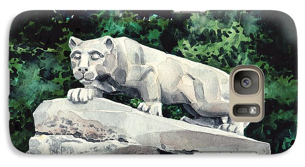 Penn State Nittany Lion Shrine University Happy Valley Joe Paterno Galaxy S7 Case by Laura Row