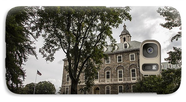 Penn State Old Main And Tree Galaxy Case by John McGraw