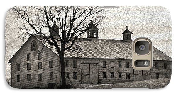Galaxy Case featuring the digital art Pennsylvania Barn by Robert Geary