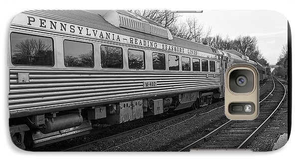 Galaxy Case featuring the photograph Pennsylvania Reading Seashore Lines Train by Terry DeLuco