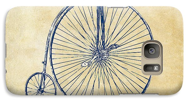 Penny-farthing 1867 High Wheeler Bicycle Vintage Galaxy Case by Nikki Marie Smith