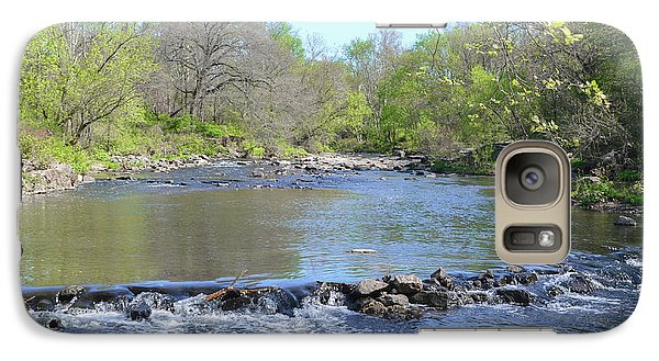 Galaxy Case featuring the photograph Pennypack Creek - Philadelphia by Bill Cannon