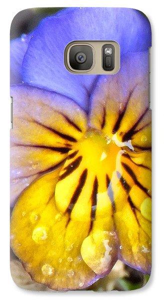 Pensee Bicolore Galaxy S7 Case