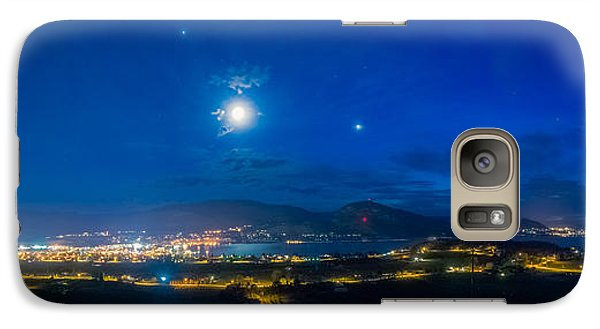 Galaxy Case featuring the photograph Penticton Night 1 by Thomas Born
