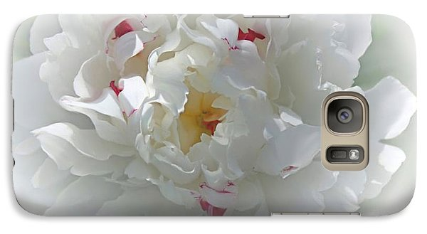 Galaxy Case featuring the photograph Peony by Bonnie Willis