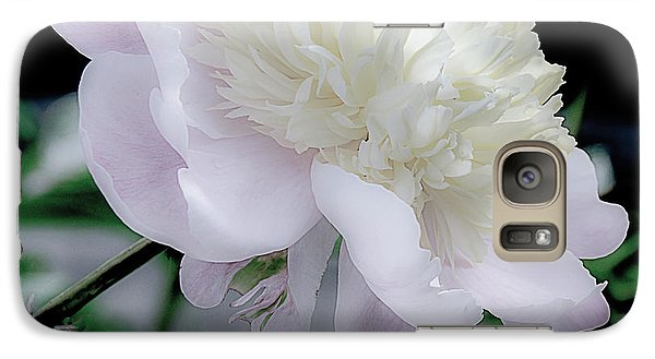 Galaxy Case featuring the photograph Peony In Bloom by Julie Palencia