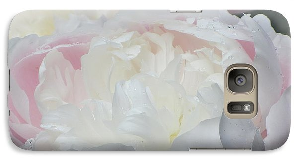 Peony Galaxy S7 Case by Karen Shackles