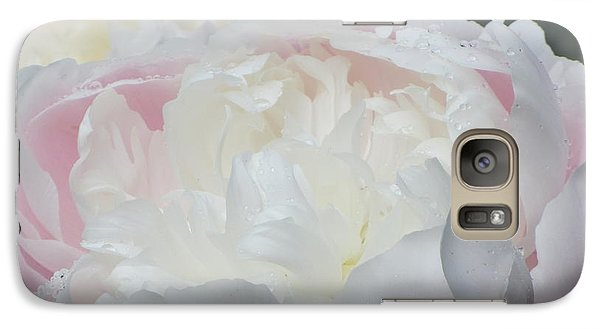 Galaxy Case featuring the photograph Peony by Karen Shackles