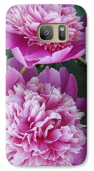 Galaxy Case featuring the photograph Peony by Kristine Nora