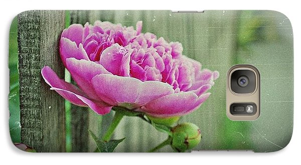 Galaxy Case featuring the photograph Peony Time by Marija Djedovic