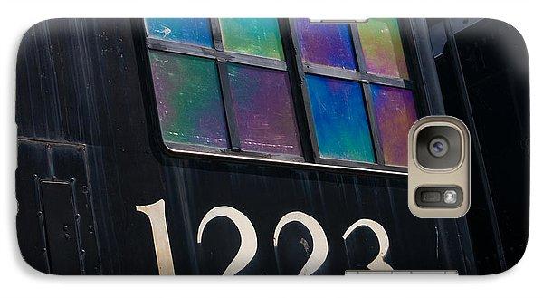 Marquette Galaxy S7 Case - Pere Marquette Locomotive 1223 by Adam Romanowicz