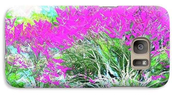 Galaxy Case featuring the photograph Perennial Garden by Susan Carella