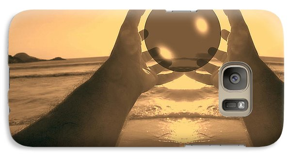 Galaxy Case featuring the photograph Perfect Circle by Beto Machado