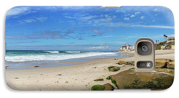 Galaxy Case featuring the photograph Perfect Day At Horseshoe Beach by Peter Tellone