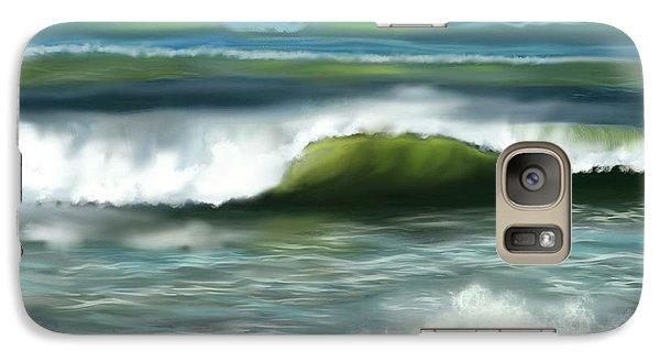 Galaxy Case featuring the digital art Perfect Day by Dawn Harrell