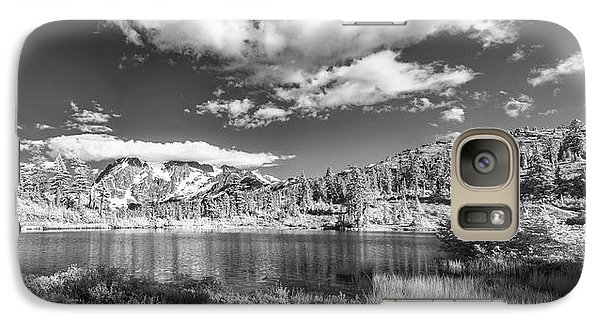 Galaxy Case featuring the photograph Perfect Lake At Mount Baker by Jon Glaser