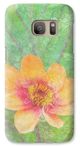 Peach Galaxy S7 Case - Perfect Peach by JQ Licensing