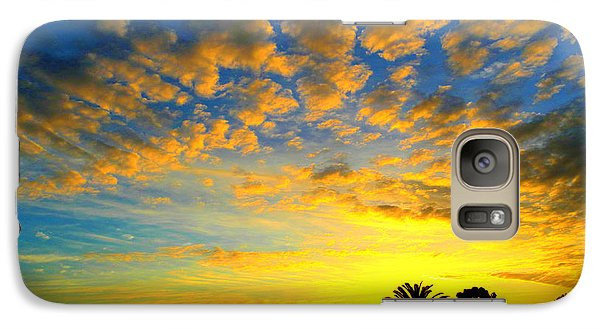 Galaxy Case featuring the digital art Perfect Sunset by Mark Blauhoefer