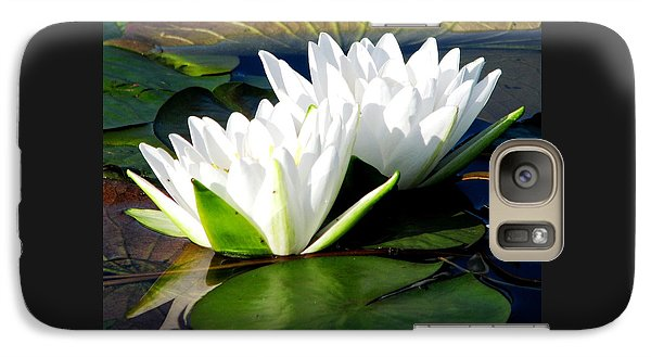 Galaxy Case featuring the photograph Perfection Together by Angela Davies